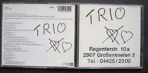 Trio – s/t (1981/199?) classic debut minimal NDW/punk Klaus Voormann