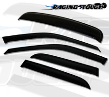 Rain Guards Sun Visor Deflector & Sunroof Combo 5pcs 03-10 Porsche Cayenne
