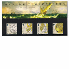 GB 1993 Marine Timekeepers - Chronometer Clock - Presentation Pack 235