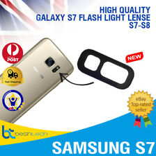 Samsung Galaxy S7 - S8 EDGE Rear Back FLASH Camera Glass Lens Replacement