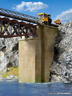 39750 Kibri HO Kit of a Universal brick-built bridge piers, 2 pieces