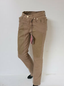 Jeckerson Jeans Donna / Pants women Art.JEA 0024 - Col. Beige- Sconto - 55%