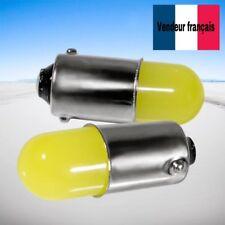 2 Veilleuse ampoule LED  T11 T4W BA9S 1156 12v Blanc xenon