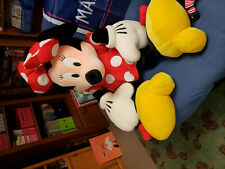 Large Minnie Mouse stuffed animal Disney plush toy doll
