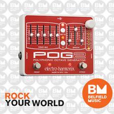 Electro-Harmonix EHX POG2 Polyphonic Octave Generator MK2 Effects Pedal FX
