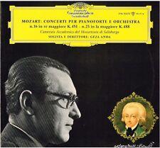 Mozart: Concerti Per Pianoforte No.16 & 23 / Geza Anda - LP Dgg Tulip