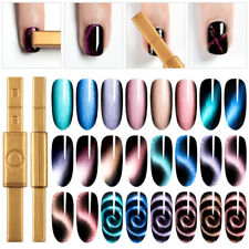 MAGNETIC CAT EYE PLATE PEN STICK for Gel Polish UV 3D Nail Art Magnet Tool UK
