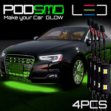 GREEN Underbody Rock Lights Under Car Glow Accent Neon LED Kit for Honda Accord