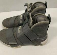 Lebron Soldier 10 X SFG PE size 12 Battle Grey James Nike Basketball Gray Og Air