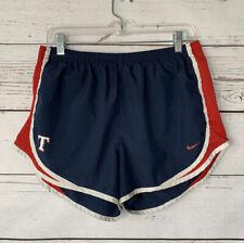 NIKE Texas RANGERS MLB Baseball Tempo Running Shorts Blue Dri-FIT Women's Large