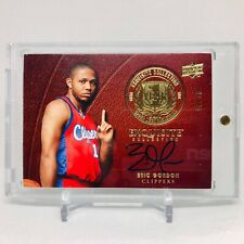 2008-09 Eric Gordon Exquisite Year One RC Rookie Auto Jersey Number 10/10 1/1