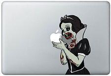 Zombie Snow White Holding Apple MacBook Pro / Air 15 Inch Vinyl Decal Sticker