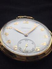 Stunning LONGINES Pocket Watch c.1940s cal. 17L Slim & Elegant Breguet Numerals