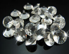 Free 50PCS Clear Imitation Diamond Resin Tip Cone Findings Pendant beads 8mm
