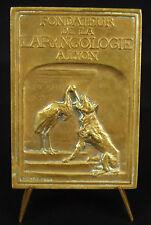 Médaille Jean Garel oto-rhino-laryngologie laryngology Larynx Henry Nocq medal