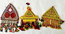 Kuchi Afghan Tribal Vintage Handmade Wall Hanging Tapestry Decor Authentic Des H