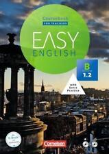 Easy English: B1: Band 2 - Kursbuch - Kursleiterfassung: Mit Audio-CD und Video-