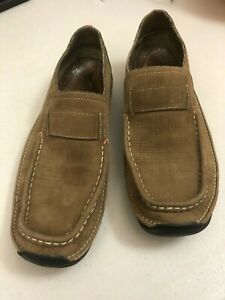 Timberland Smart Comfort System Leather Shoes UK 8 / 8.5 - Brown Slip-on Loafers