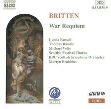 Britten - War Requiem (CD 1996) Martyn Brabbins; Naxos 8.553558-9