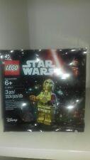Brand New Sealed Genuine Lego Star Wars C-3PO C3PO Red Arm 5002948 Polybag