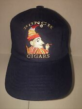 Punch Cigars Navy Blue 100% Cotton NWOT Baseball Hat Trucker Cap NEW NEVER WORN!
