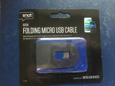 SMART Pieghevole Micro USB Cavo Blu