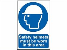 Scan - Safety Helmets Must Be Worn In This Area - PVC 200 x 300mm