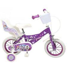12 Zoll Kinderfahrrad Mädchen Fahrrad Disney Princess Sofia 3 4 5 Jahre neu