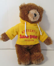 "Sugar Babies Brown Teddy Bear Stuffed Animal 14"" Plush Good Stuff 2005"