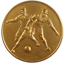 Sports Football Netherlands SOCCER AWARD gilt-bronze 50mm