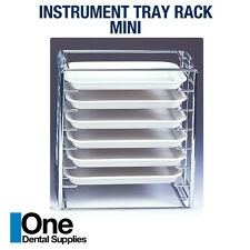 Dental Instrument Tray Rack Mini