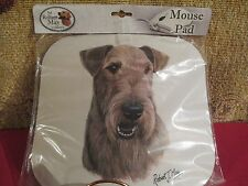 Airedale Terrier ~ Mouse Pad by Robert May