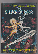 RARE MARVEL HARDCOVER.FIRSIDE. SILVER SURFER.1978.FIRST EDITION WITH DUST JACKET