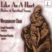 Lika As a Hart: Psalms & Spiritual Songs (cd8182) Chesky Records)