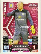 Match Attax 2013/14 Premier League - #019 Bradley Guzan - Aston Villa