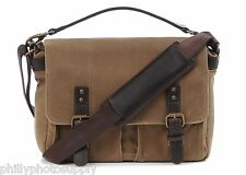 ONA Prince Street Tan Canvas Camera / Messenger Bag ->Handcrafted Premium Bags