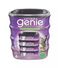 Litter Genie Cat Litter Disposal System - Pack of 4