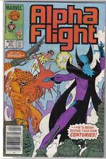 Marvel Comics Alpha Flight #21 April 1985 John Byrne VF