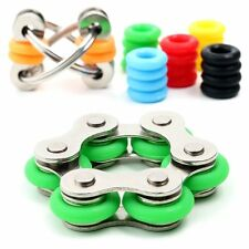 Fidget Toys for Sensory Kids Set Roller Chain Fidget Toy Flippy Chain Stress