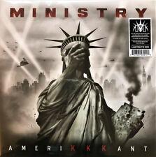 MINISTRY - Amerikkkant LP - SEALED - 2018 Splatter Colored Vinyl Album - Limited