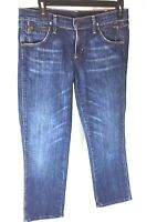 COH Citizens of Humanity Kelly Cropped Sz 29 Capri Jeans Distress Jerome Dahan I