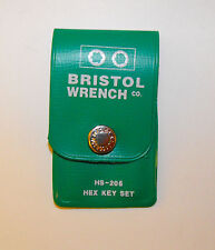 BRISTOL HS-206 MINIATURE HEX WRENCH KIT - 6 PIECE   AVIATION / AVIONICS TOOLS