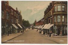 Cranbrook Road Ilford, Essex Knight Series Postcard B734