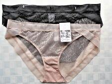 Womens Clothes Size L/7 Sexy Sheer 2Pk Bikini Panties NWT $24 Jessica Simpson
