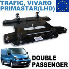 Kiravans Trafic / Vivaro Double seat swivel 2001 - 2014 (European Left hand driv