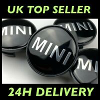 Set of 4 Mini Cooper S Alloy Wheel Hub Centre Cap Logo 54mm R50 R52 R55 R56 4x