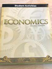 Bob Jones BJU Economics Student Activities Worktext Second Edition NEWHomeschool