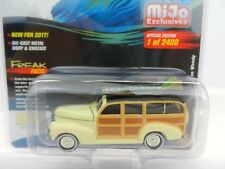 2017 Johnny Lightning *SURF RODS* YELLOW 1941 Chevy Woody Deluxe *MIJO EX*