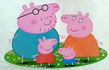 NEW PEPPA PIG Wall Sticker Bedroom Girls Decal Vinyl Girls Art Gift GIANT