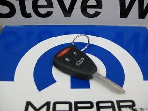 05-07 Grand Cherokee New Key Keyless Entry Remote Fob Mopar Factory Oem